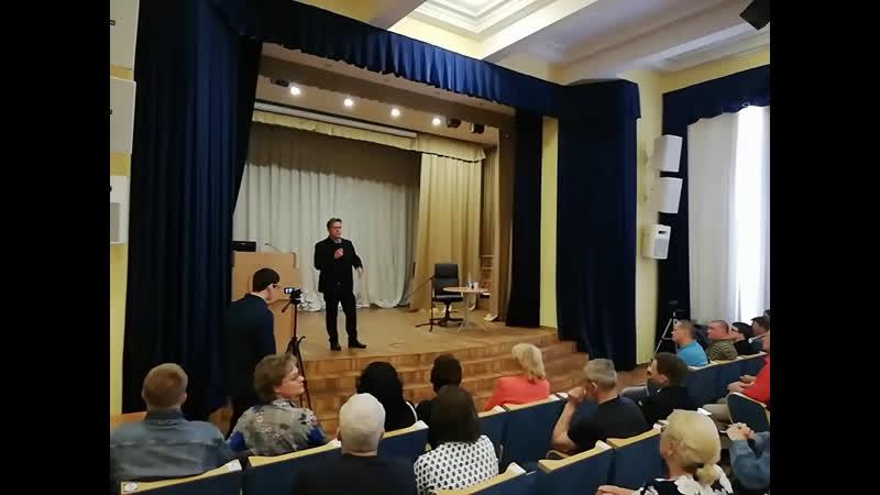 Н.Н.Платошкин встреча в Санкт-Петербурге