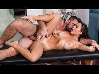 Abigail Mac - Serviced In Her Room (Big Tits, Blowjob, Brunette, Massage, Oil)