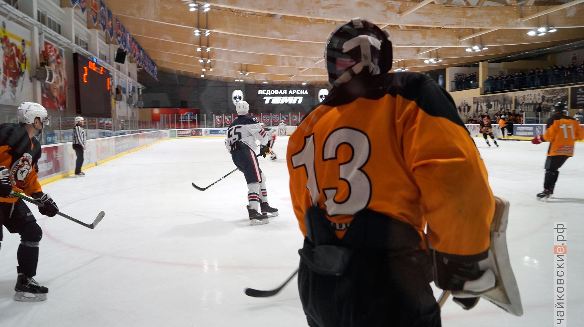 хоккей, чайковский район, 2020 год