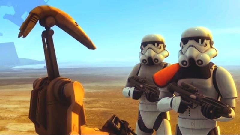 Звёздные войны: Повстанцы Последний бой Star Wars Сезон 3 Серия 6 Мультфильм Disney