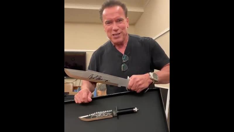 Ты называешь это ножом? Вот так выглядит нож!
