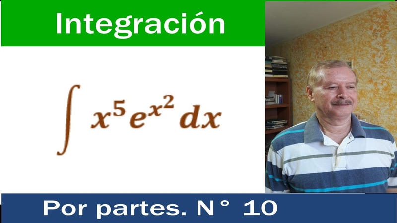 Integración por partes Integration by parts N° 10