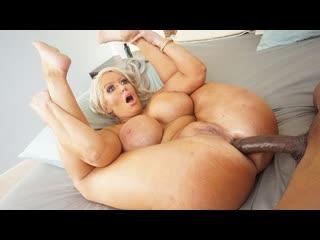 Alura Jenson - Big Boob Babe Want A Cock To Fill Her Ass - Anal Sex Milf Big Tits Juicy Ass Black Dick BBC Chubby Cum Porn Порно