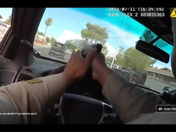 Las Vegas Shooting Watch cops body cam of dramatic chase, shoot-out