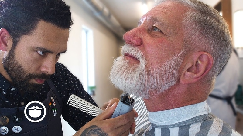 Founder of Beardbrand gets his Dad the Ultimate Barber Experience