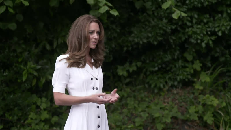 The Duchess Of Cambridge Visits Baby Basics UK