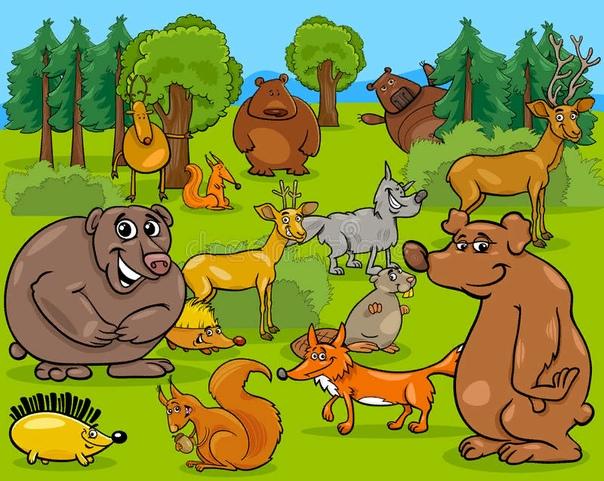 Сказки Бобруйского леса - 2 Сказка про лес.Медведь был безобразным, косолапым и грязным животным. Однако добрее его не было никого во всём лесу. Но звери замечали только его внешность, на что
