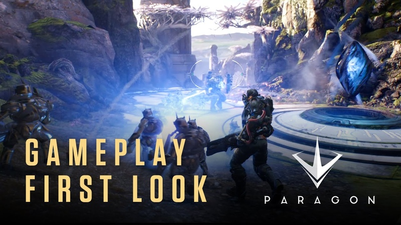 Paragon from Epic Games Gameplay First Look