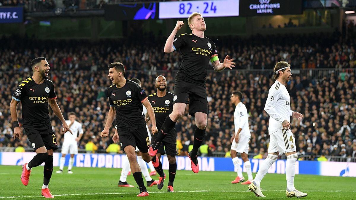 Реал Мадрид - Манчестер Сити. Лига чемпионов 2020
