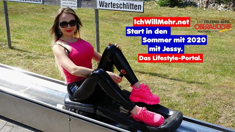 Start in den Sommer 2020 am Oberaudorfer Hocheck mit Jessy.
