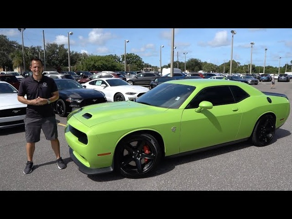 Is this Dodge Challenger Hellcat the BEST buy for the most Muscle Car power