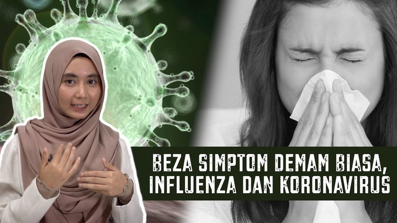 Beza Simptom Demam Biasa Influenza dan Koronavirus