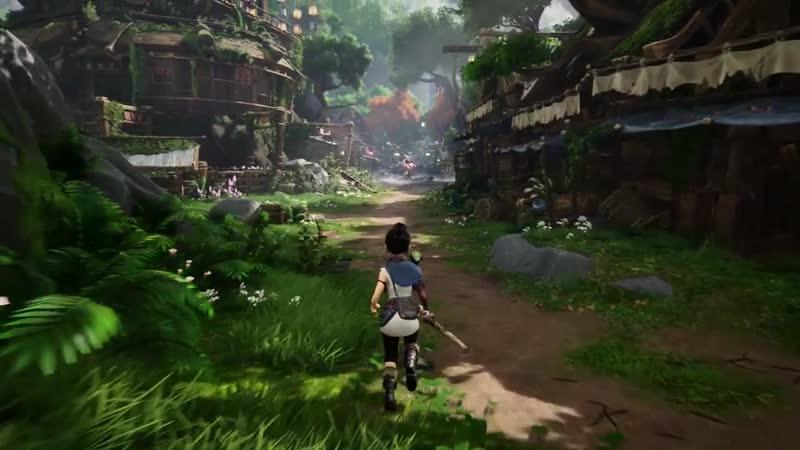 Разработчики Majora's Mask Terrible Fate создают свою собственную игру Kena Bridge of Spirits gaming video