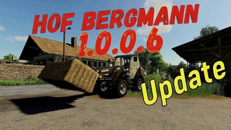 Farming Simulator 19. FS 19. HOF BERGMANN 1.0.0.6. СЕЗОНЫ. ЛЕТО!