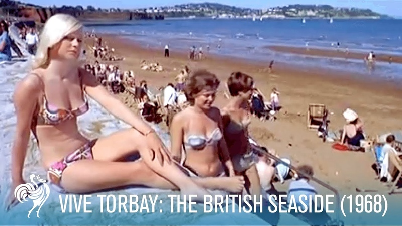 Vive Torbay Travelling to the British Seaside 1968 British Pathé
