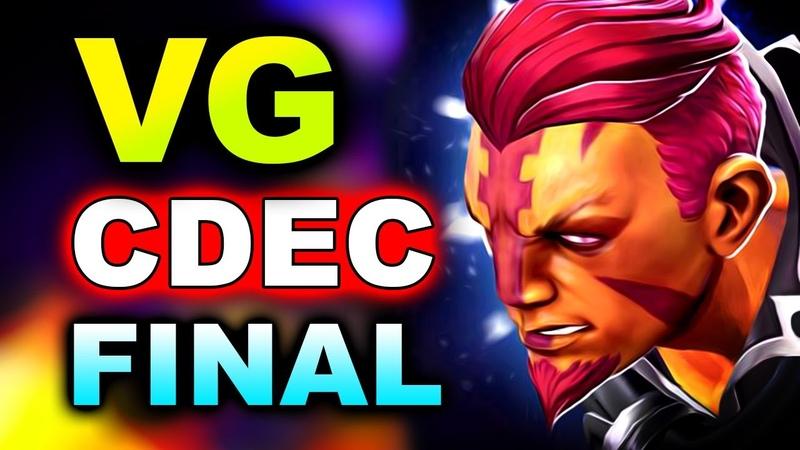 Vici Gaming vs CDEC GRAND FINAL AMD SAPPHIRE OGA DOTA PIT 2 CHINA DOTA 2