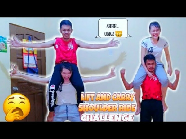 Lift and Carry Challenge Shoulder Ride Da Crisnity