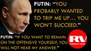 VLADIMIR PUTIN on Opposition, Systemic and Non-Systemic | TASS Agency | 15th Part (VOICED)