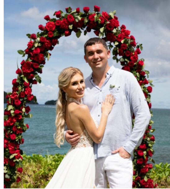 Первые фото со свадьбы Розалии Райсона и Андрея Шабарина