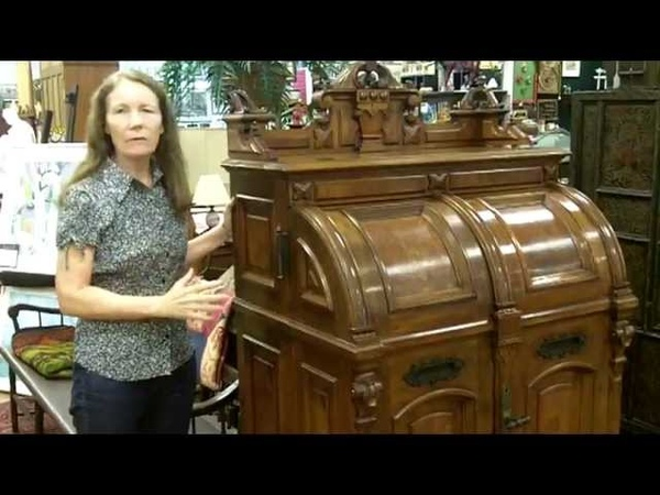 Antique Wooton Desk Antique furniture from our antiques mall at Gannon's Antiques Art