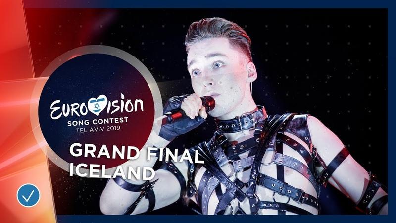 Iceland LIVE Hatari Hatrið mun sigra Grand Final Eurovision 2019