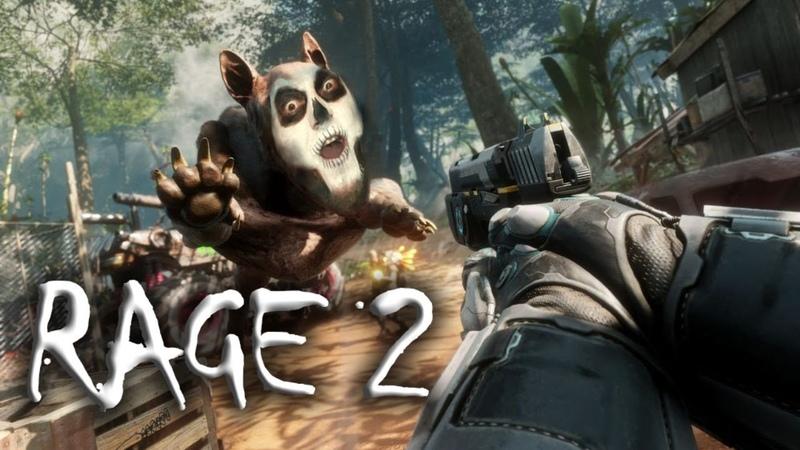 Стрим Rage 2 3 Рейнджер крутой Уокер Правосудие в пустошах
