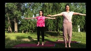 Rendez-vous 3 avec Pascale et Jade -  Solstice d'été- International Yoga Day - 30 min