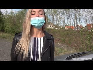Polina Maxim (Food Car Massacre /  ) [Anal, Blonde, Blowjob, Fetish, Food Fetish, Hardcore, Public, Sex for Money]