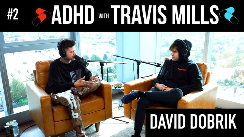 David Dobrik DOESN'T want to be a vlogger | ADHD w/ Travis Mills 2