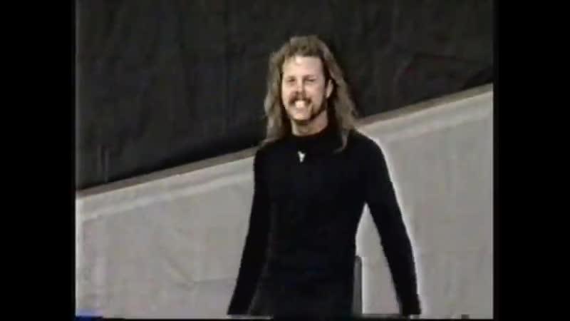 Metallica CNE Toronto 9 13 92 Much Music Highlights Wherever I May Roam Toronto Canada 13 09 1992 Pro Cut Shot