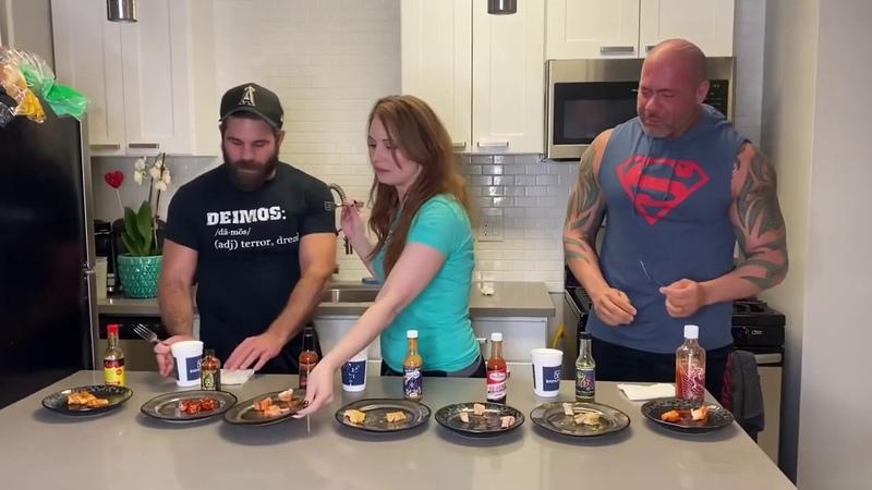 My1 Hot Sauce Challenge with Joey Ryan Teal Piper Deimos