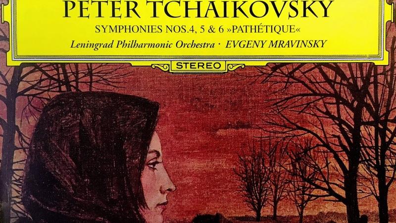 Tchaikovsky Symphonies n°4 5 6 Pathetique Presentation Century's recording Yevgeny Mravinsky