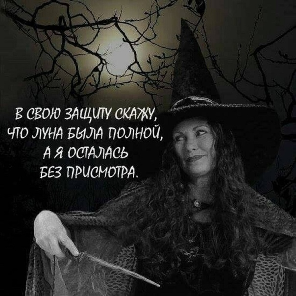 демотиваторы с ведьмой находится
