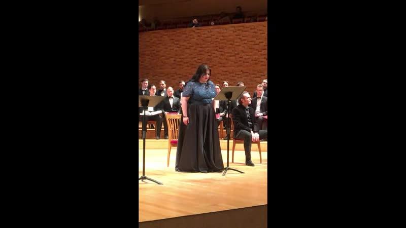 Mariinsky orchestra Gemma di Vergi Джемма ди Верджи Финал начало