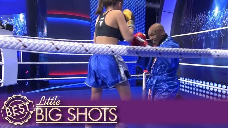 Little Big Shots Mike Tyson Fights Little Girl