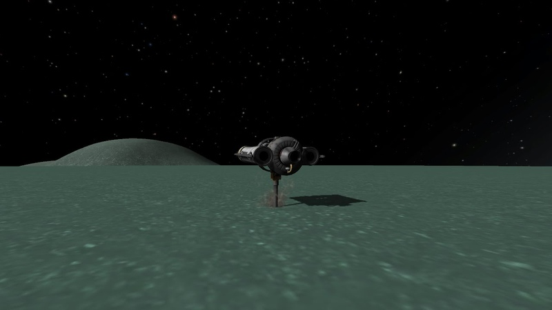Mining Ore While in Orbit: Only on Minmus.