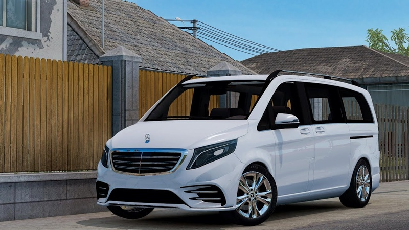 Mercedes-Benz Vito V-Class 2018 - ETS2[1.39][Euro Truck Simulator 2]