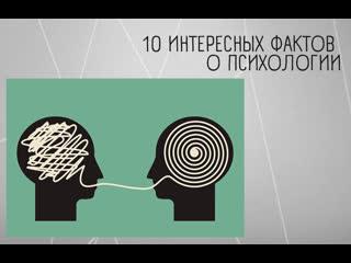 10 ИНТЕРЕСНЫХ ФАКТОВ О ПСИХОЛОГИИ