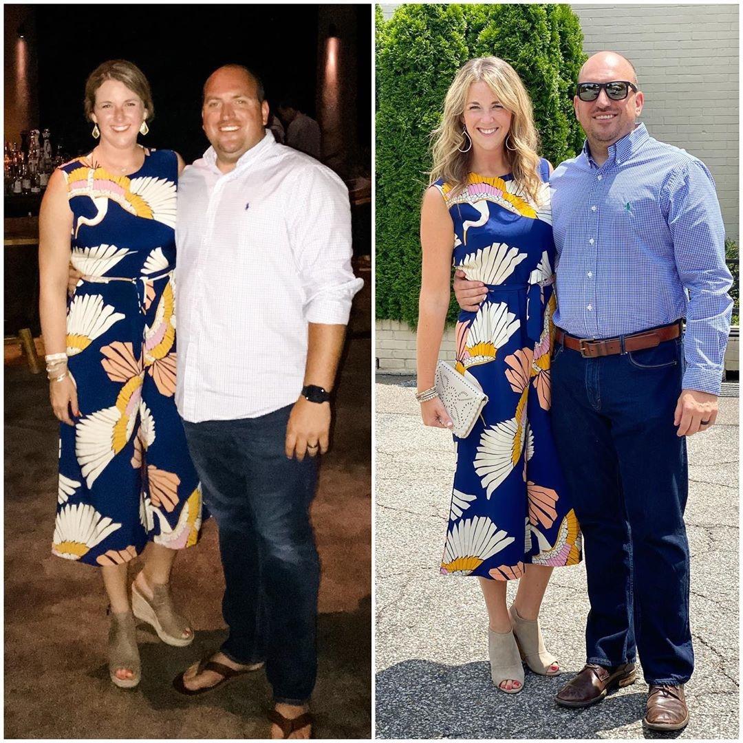 Муж и жена сбросили 46 килограммов на двоих, любовь преображает
