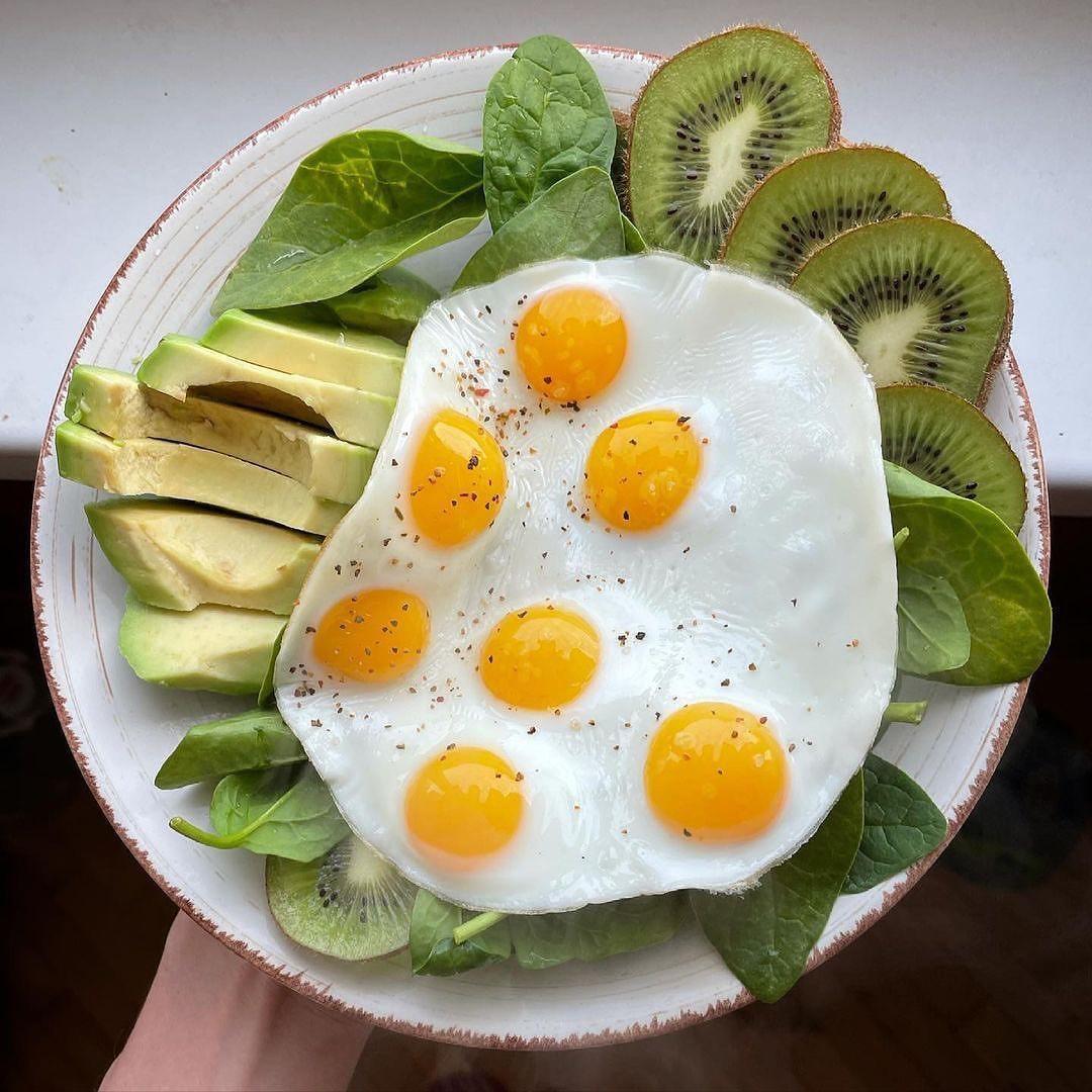 Начинайте свой день в полезного завтрака  А что у вас сегодня на завтрак?