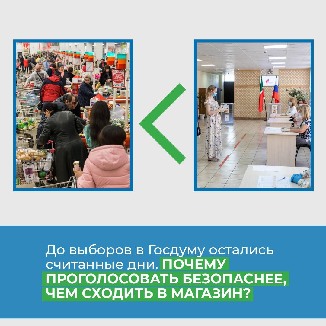Голосование в 3 дня, средства защиты и измерение температуры— все это делает голосование на выборах безопаснее, чем поход в магазин