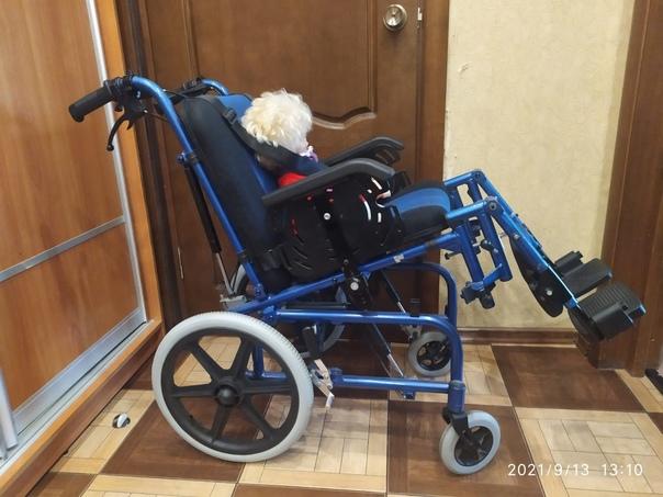 Отдам детское домашние инвалидное кресло, б/у, на ...