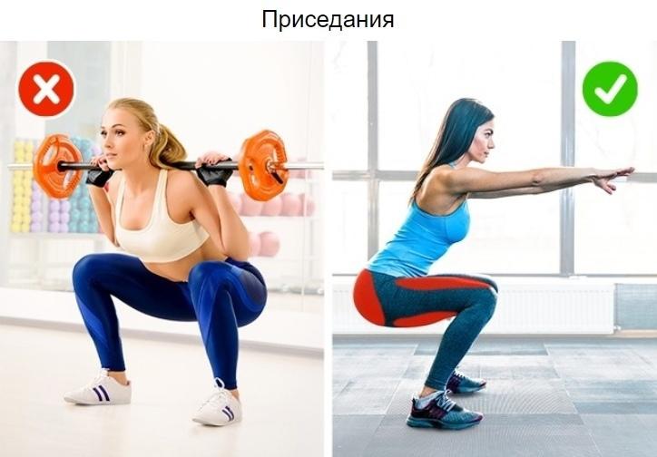 5 бесполезных упражнений, которые не помогут похудеть