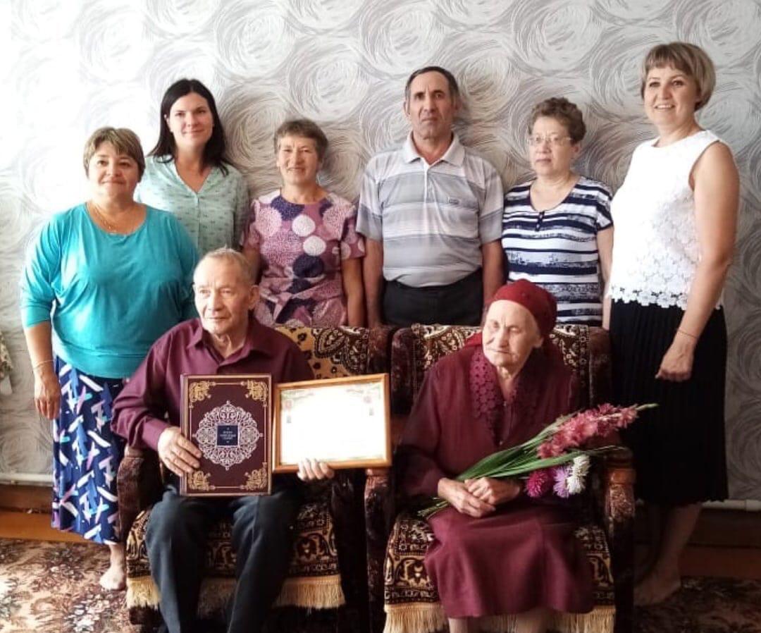 70 лет совместной жизни отметили супруги Митрофановы