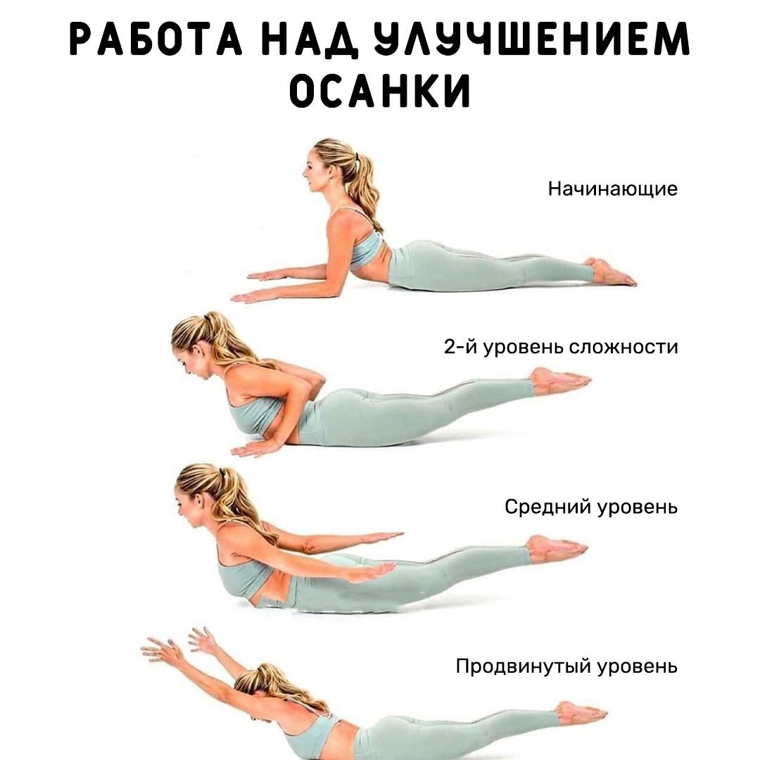 Улучшаем свою осанку с помощью одного упражнения