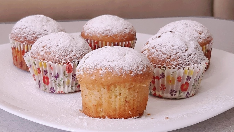 30 минут и гости с ароматым и вкусным угощеньем Вanana muffins