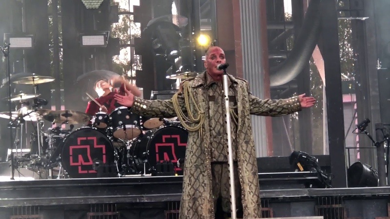 Rammstein Live in Finland 2019 10 08 Tampere video Alex Kornyshev