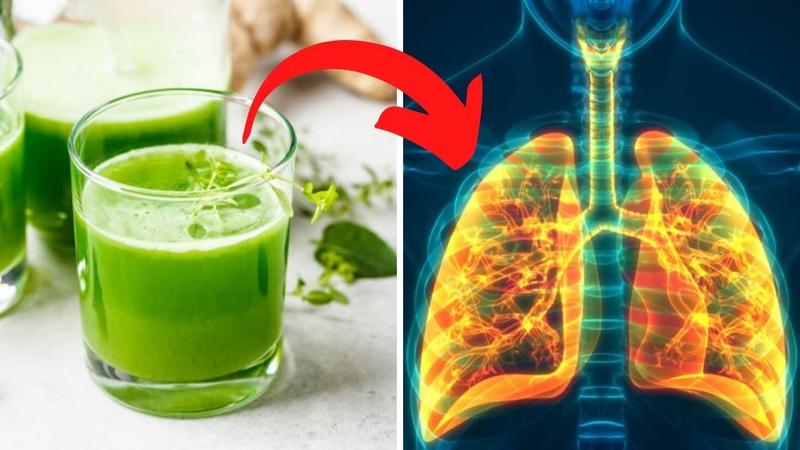 OCZYŚĆ PŁUCA i usuń bakterie oraz flegmę za pomocą tego DOMOWEGO napoju