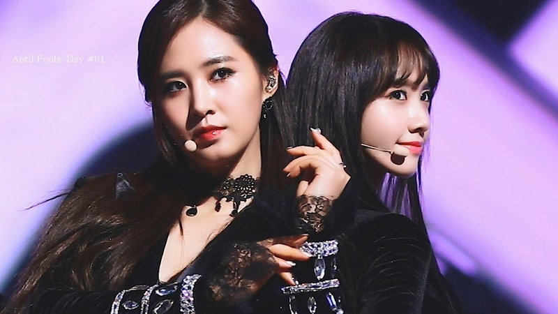 APRIL FOOL'S DAY 141231 MBC 가요대제전 소녀시대 윤아 SNSD YOONA