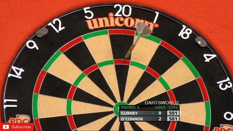 Gurney v O'Connor PDC UK Open 2020